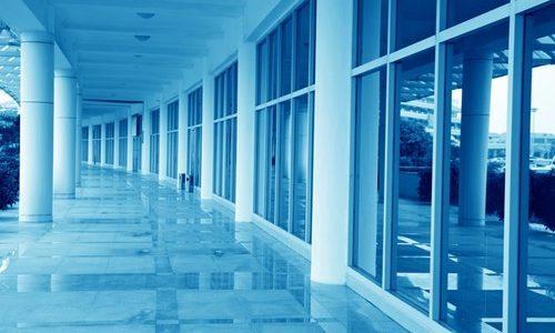 Boutique hotel building maintenance