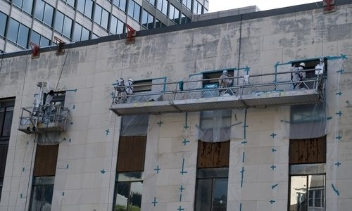 How to prevent salt weathering on buildings and statues