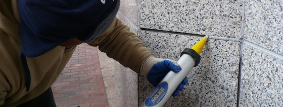 Save your owner money - Caulk your building